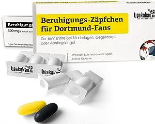 Beruhigungs-Zäpfchen® für Dortmund-Fans | Lakritz-Zäpfch