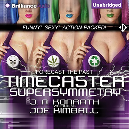 Timecaster Supersymmetry audiobook cover art