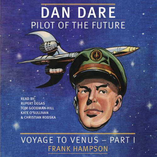 Dan Dare audiobook cover art