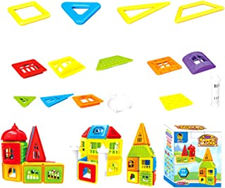 Coxeer 77PCS Building Block Toy Multifunctional Block Game Toy Preschool Block Toy