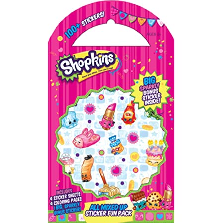 Self-Inking Stamps and Stickers Combo Pack Details about  /Shopkins 20pc Tattoos