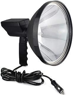 مصباح زينون محمول 9 بوصات من HID Xenon 1000 وات 245 مم للاستخدام خارج المنزل للتخييم الصيد كشاف إضاءة كشاف إضاءة كشاف