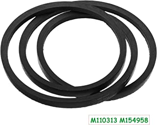 Poweka M154958 Deck Belt Replacement M110313 for John Deere Scotts Sabre 48