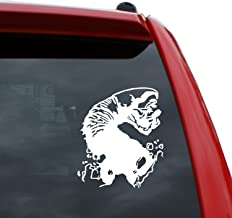 "Black Heart Decals & More Tremors/Graboid Vinyl Decal Sticker | Color: White | 5"" Tall"