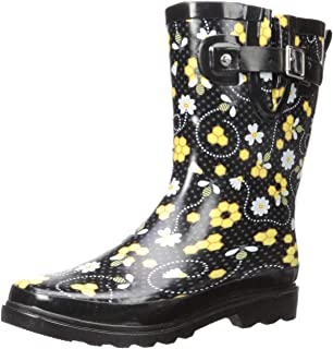 Women's Mid-Height Waterproof Rain Boots