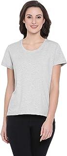 Clovia Women's Cotton Rich T-Shirt
