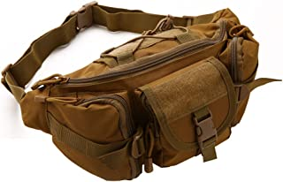 Beyong Gear Tactical Waist Pack Bag Military Waist Pack Portable Fanny Packs Large Army Waist Bag for Daily Life Fishing Cycling Camping Hiking Traveling Hunting Shopping