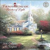 Thomas Kinkade Painter of Light with Scripture: 2010 Mini Wall Calendar