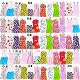 WENTS Ropa Accesorios para muñecas 60 Piezas Vestidas Fashion Mini Falda Fiesta Ropas Casuales para Barbie Muñeca para 11,5 Pulgadas Fashionista Hecha a Mano
