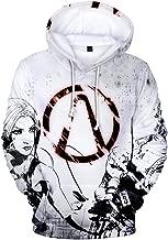 Jack Fashion Borderlands 3 Sweatshirts,3D Digital Printing Pocket Hoodie,Comfortable Breathable Round Collar Hooded Top for Boys&Girls&Men&Women