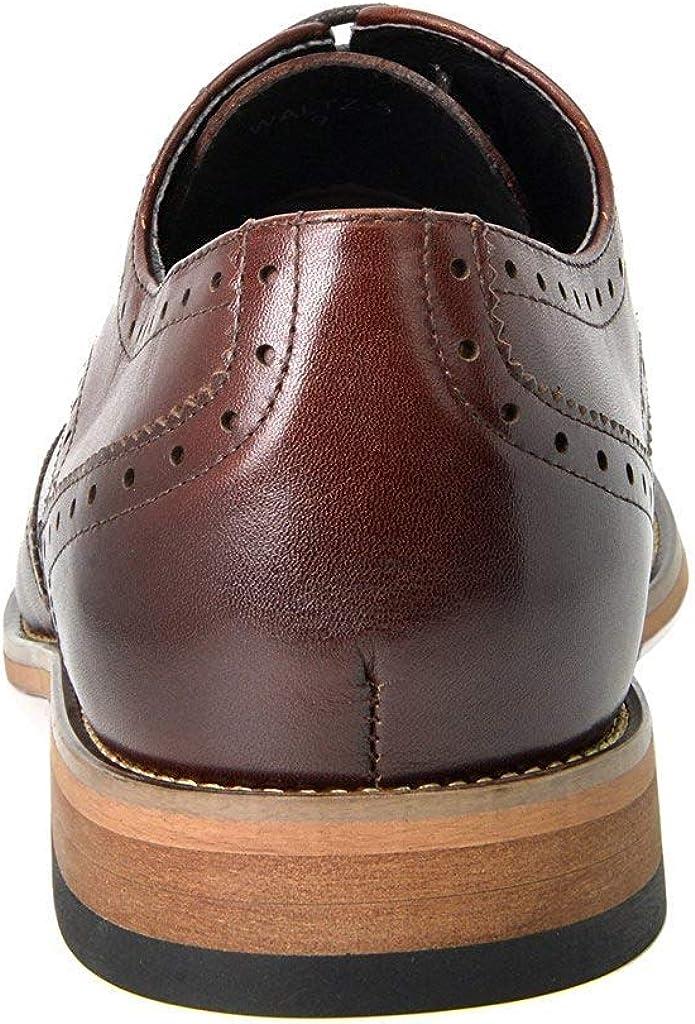 Bruno Marc Mens Dress Formal Leather Shoes Brogues Derbys Waltz