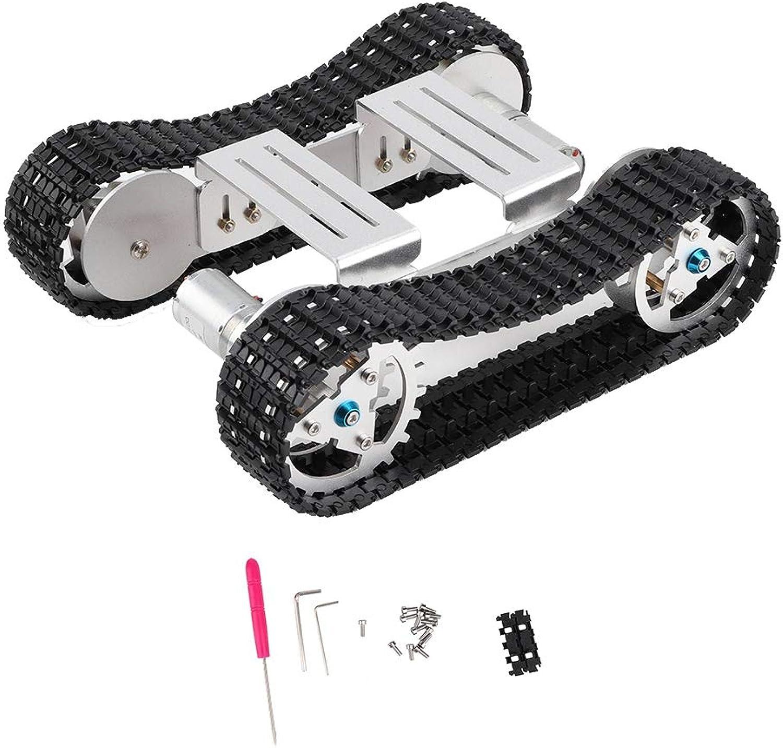 el precio más bajo VGEBY1 Chasis de Tanque, chasis chasis chasis de vehículo de Doble Unidad Robot Kit de chasis de orugas de orugas de Tanque  diseños exclusivos