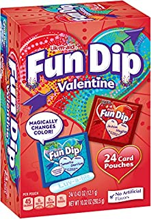 LIK-M-AID Fun Dip Valentine Candy and Card Kit, 10.32 Ounce
