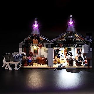 BRIKSMAX Kit de Iluminación Led para Harry Potter Cabaña de Hagrid Rescate de Buckbeak,Compatible con Ladrillos de Construcción Lego Modelo 75947, Juego de Legos no Incluido