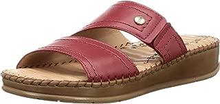 Scholl Women's Megan Mule Leather Fashion Slippers