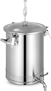 VEVOR Stainless Steel Fermenter Brewmaster Brewing Equipment for Home Beer Brewer 7.5 gallon Sliver