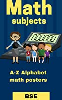 A-Z Alphabet Math Posters, with different math subjects