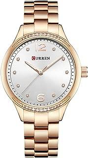 Curren Watches Women Luxury Quartz Watch Fashion Ladies Elegant Wristwatch Gifts for Lady