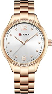 Curren Watches Women Luxury Quartz Watch Fashion Ladies Elegant Wristwatch Gifts for Lady
