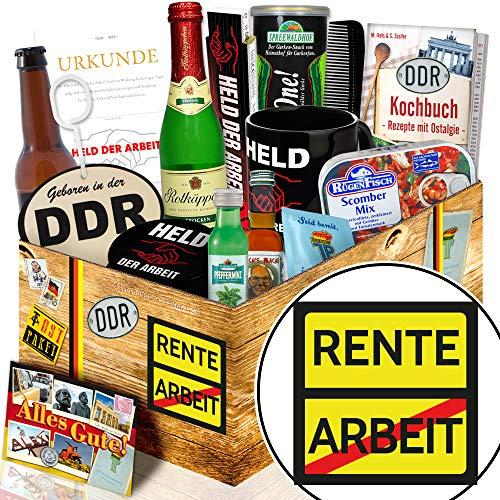 Rente + Ruhestand Geschenk + Männerbox DDR