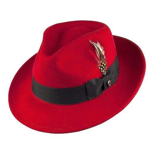 18bbf2f3e7c98 Jaxon Hats Pachuco C-Crown Crushable Fedora Hat
