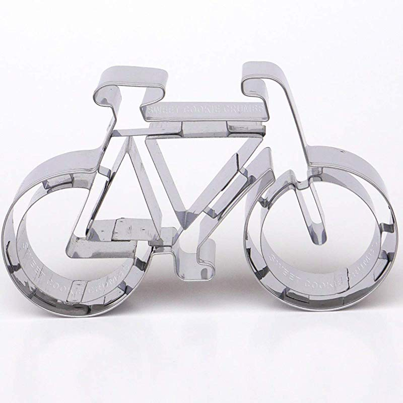 Bicycle Cookie Cutter Stainless Steel