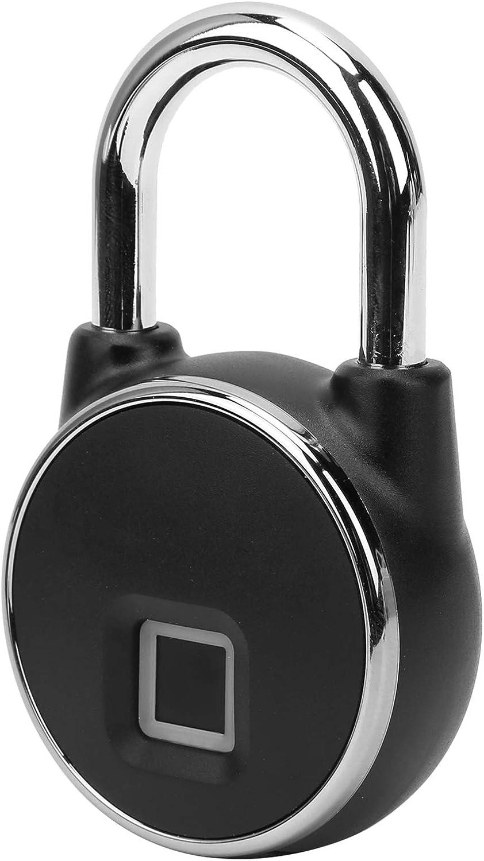 Gym Lock Fingerprint low-pricing Padlock USB Unlock 10 Powered APP latest Support