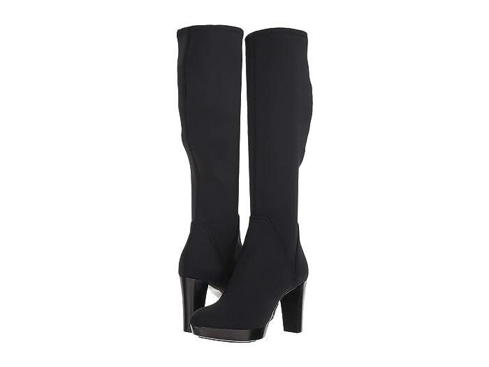 Donald Pliner  Echoe 2 (Black Crepe Elastic) Womens Dress Boots