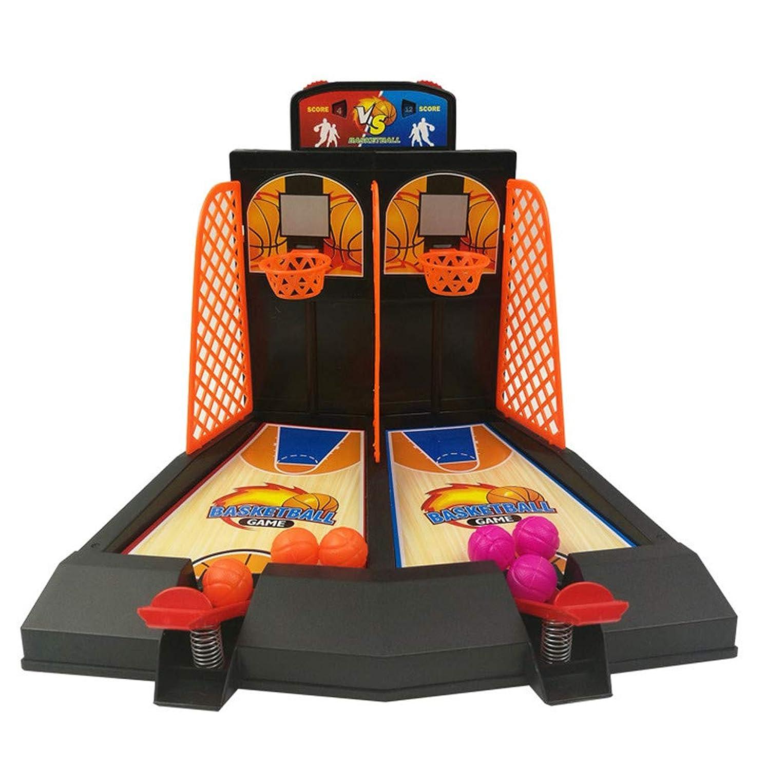 ??2-Player Desktop Table Basketball Games Classic Basketball Shooting Toy