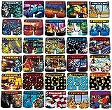 Freegun - Pack de boxers para hombre (microfibra), Multicolor, L
