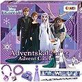 CRAZE Premium Advent Calendar 24652 adviento Navidad 2020 Frozen II Reina de Las Nieves para niñas Calendario de Juguetes con Contenido Creativo y Grandes sorpresas, Color Play Set de CRAZE