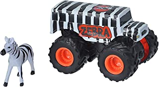 Wild Republic Zebra Truck, Safari Gifts, Zoo Toys, Kids Gifts, Zoo Party Supplies, 2Piece
