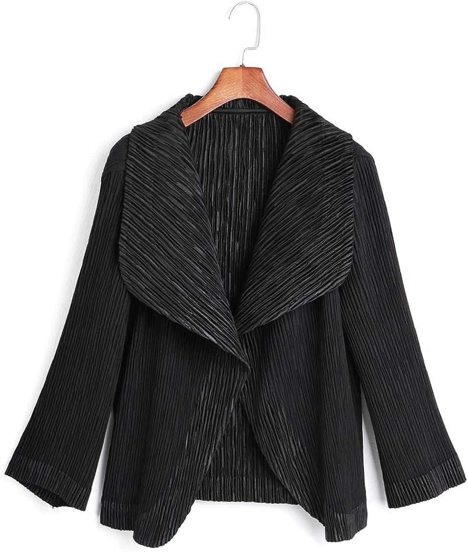NEXIIA QDay Womens Stylish Pleated Outerwear. Premium. Free Size