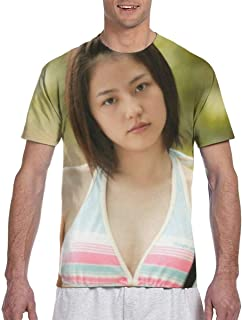 Tシャツ 長澤まさみ Tシャツ メンズ 半袖 カジュアル トップス 丸首 大きい サイズ ゆったり 吸汗 柔らかい おしゃれ 漫画 春 夏