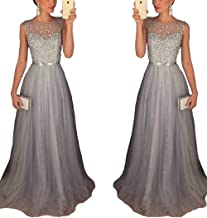 Half Flower Bridal Evening Dress A-Line Prom Dress And Tulle Party Dress