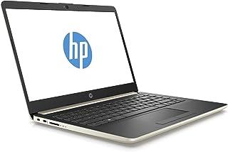 HP 14-cf0000ne Laptop - Intel Core i5-8250U, 14-Inch HD, 1TB, 8GB, 2GB VGA-AMD Redeon 530,Eng-Arb-KB, Windows 10, Gold