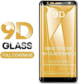 LZHANDA 9D härdat glas för Galaxy J4 Plus J6 J8 A6 A8 A7 nytt skärmskydd A5 A3 A7 skyddande glasfilm A320 A3 2017 svart