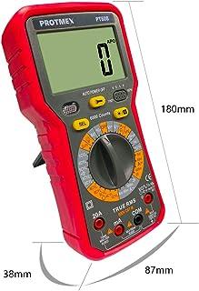 Multim/ètre num/érique testeur de Poche Haute pr/écision Test de Tension r/éparation de Voiture testeur de Batterie Anti-/épuisement multim/ètre Multi-Fonction