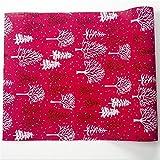 Decorazioni per la casa Buon Natale Tabella Runner Mat Tovaglia non tessuto di natale Bandiera del partito della casa decorazione 270 * 30 CM per la decorazione domestica del partito ( Color : A )