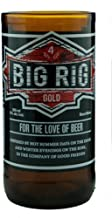 product image for Set of 2 Tumblers Made From Recycled Big Rig Beer Bottles