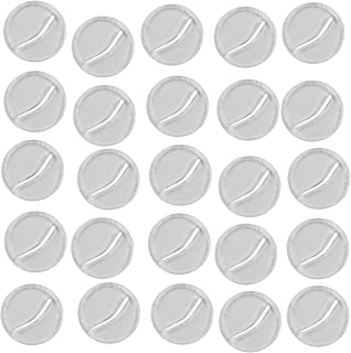 LITKO Paper Miniature Bases, 20mm Circle, 3mm Clear (25)