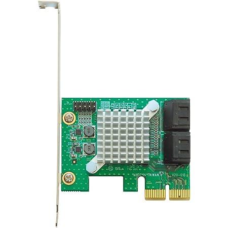 玄人志向 インターフェースボード SATAポート増設 PCI-Express x2 SATA3RI4-PCIE