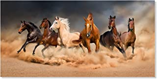 Best wild horse painting canvas Reviews