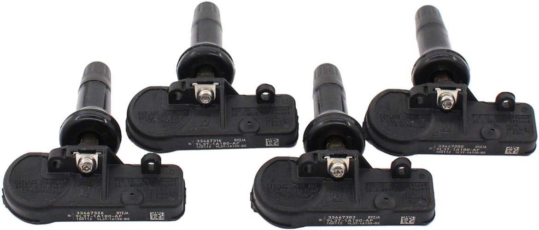 NewYall Max 74% OFF Max 55% OFF Pack of 4 Pressure Tire Sensor TPMS