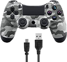 Wireless Controllers for PS4 Playstation 4 V2 Dual Shock (Gray Camouflage)