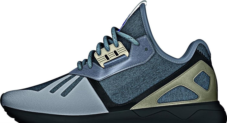 Adidas Tubular Runner, medium grey heather-core black-cyber metallic
