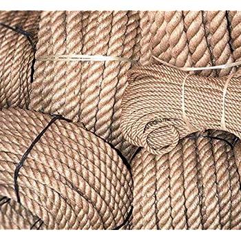 50m cuerda de yute 26mm 3-hebra