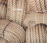 Cuerda de yute al metro, 100% natural, diámetro 5 mm,...