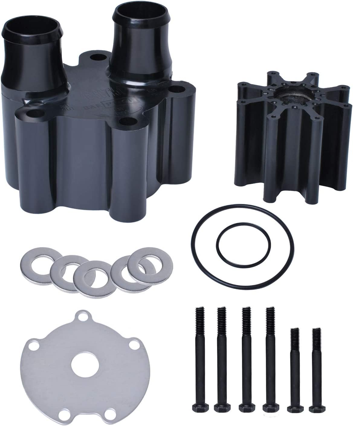 46-807151A14 Water store Pump Impeller Louisville-Jefferson County Mall Kit W Sea Housing with 18-3150