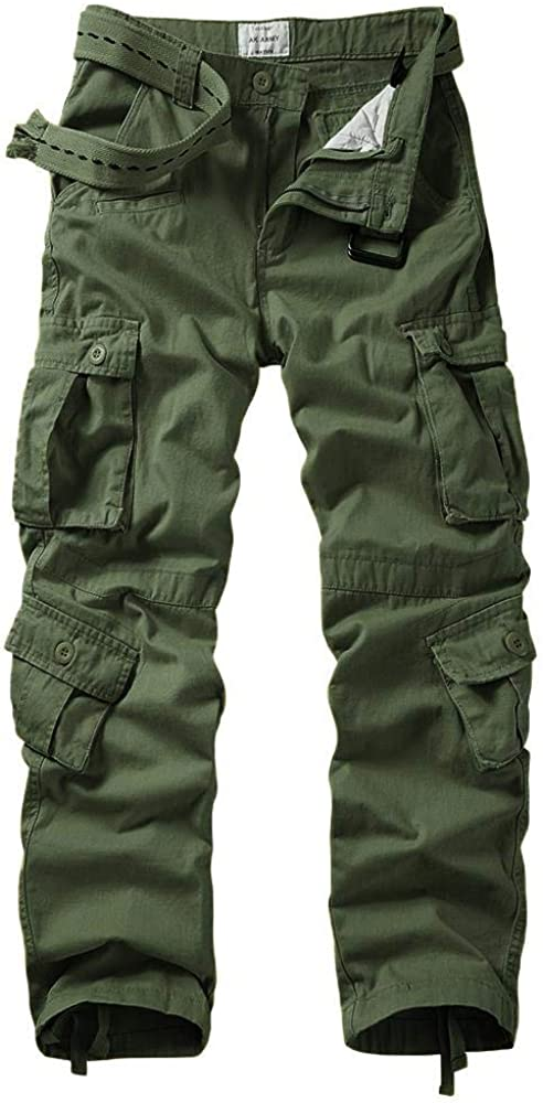 TRGPSG Men's Military Tactical Cargo Cotton Casual Year-end annual account Max 81% OFF Pants Outdoo